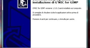 Installare G'MIC su Windows